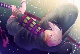 аниме, touken ranbu, девушка