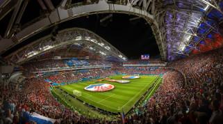трибуны, стадион, Сочи, Стадион Фишт, Чемпионат Мира 2018, Россия--Хорватия, архитектура, футбол
