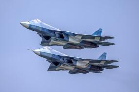 su-57, авиация, боевые самолёты, ввс, россия
