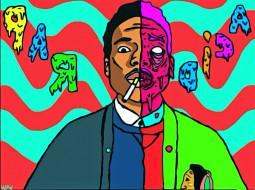 chance-the-rapper, музыка, -временный, рисунок