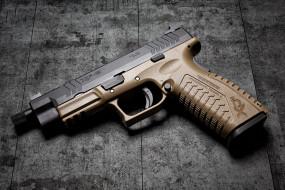 springfield armory xdmt, оружие, пистолеты, ствол