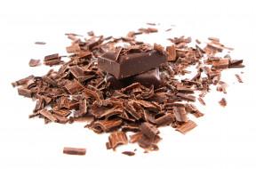 куски, стружка, шоколад