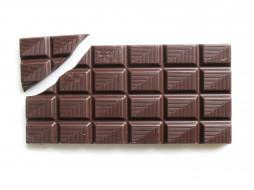 плитка, шоколад, кусок