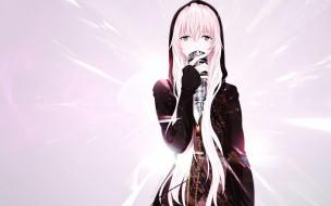 аниме, vocaloid, девушка