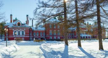 республика марий эл, юрино, россия, шереметевский замок, зима, дворец