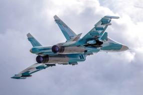 су-34, авиация, боевые самолёты, су34, бомбардировщик, истребитель, изделие, т-10в, fullback