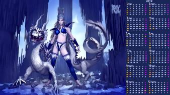 женщина, дракон, корона