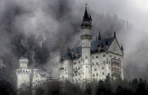 neuschwanstein castle, города, замок нойшванштайн , германия, простор