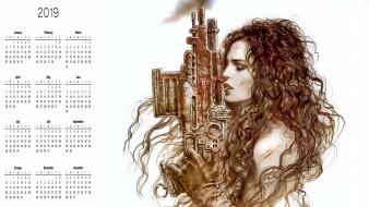 оружие, девушка, профиль
