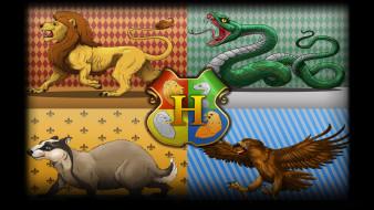 эмблемы, факультеты, звери