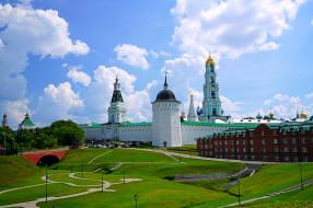 сергиев посад, московская область, троице-сергиева лавра, архитектура