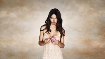 пеньюар, модель, цветок, роза