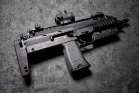 h&k mp7a1, оружие, автоматы, ствол