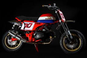 мотоциклы, honda, 2019, honda monkey, z125