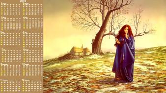 девушка, оружие, дерево, дом