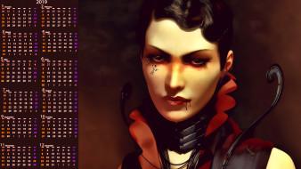 взгляд, лицо, кровь, женщина
