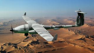 дрон, авиация, технологии, patroller sagem drone