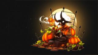 Halloween Loading Screen, Fiesta Online - Candle Ghost, Sayael Nu