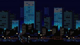Ночь, Здания, Город
