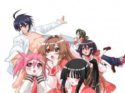 аниме, seto no hanayome, персонажи