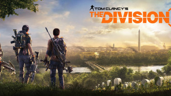 постер, e3 2018, видеоигры, 2019, tom clancys the division 2