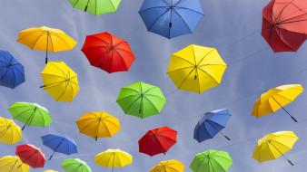 Верхние Альпы, зонтики, Франция