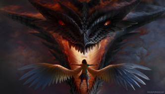 дракон, ангел