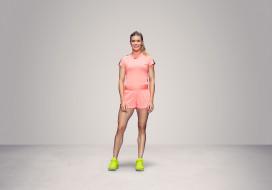 теннис, Eugenie Bouchard, фон, взгляд, девушка