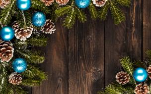 wood, New Year, ветки ели, fir tree, Merry, xmas, decoration, balls, Christmas, Рождество, Новый Год, шары, украшения