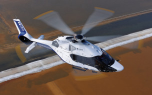 небо, вертолет, airbus helicopters, h160