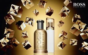 флакон, hugo boss, парфюм, бренд