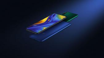 xiaomi mi mix 3, слайдер, флагман, смартфон, безрамочный, superpixel