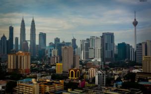 куала-лумпур, малайзия, башни петронас, башни-близнецы, азия