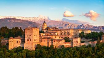 alhambra, города, - дворцы,  замки,  крепости, простор