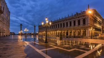 города, венеция , италия, простор