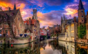 brugge,  belgium, города, брюгге , бельгия, простор
