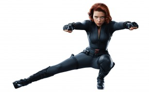 Scarlett Johansson, девушка, актриса, рыжеволосая, образ, поза, костюм