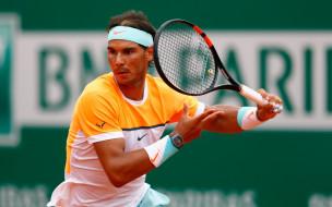 фон, мужчина, взгляд, теннис, Rafael Nadal