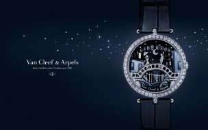 van cleef & arpels, бренды, - другое, роскошь, наручные, часы, brands, jewel, van, cleef, and, arpels, ювелирные