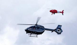 полет, вертолет