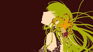 аниме, code geass, девушка