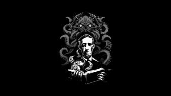 Howard Phillips Lovecraft, Necronomicon, Говард Филлипс Лавкрафт, Cthulhu, Лавкрафт, Некрономикон, Ктулху, ужас