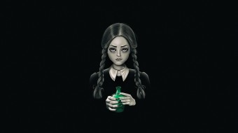 Семейка Аддамс, by Vincenttrinidad, Vincenttrinidad, Vincent Trinidad, Арт, Wednesday Addams, Wednesday Addams, Уэнздей Аддамс, Death Bores Me, by Vincent Trinidad, Addams