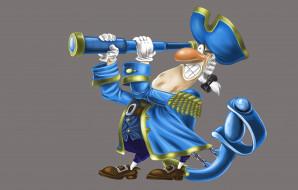 детская, Барон Мюнхгаузен, сабля, подзорная труба, арт, вектор, рисунок, улыбка