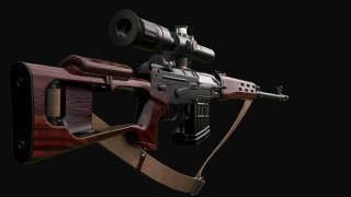 оружие, снайперская винтовка, свд, снайперская, винтовка, драгунова, классика
