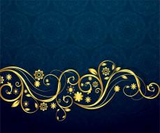 векторная графика, цветы , flowers, узор, текстура, орнамент, синий, фон