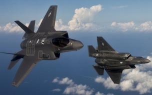 lockheed martin, wallhaven, lightning II, f35, многофункциональный, истребитель-бомбардировщик, пятое поколение