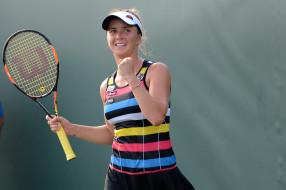 фон, взгляд, теннис, девушка, Elina Svitolina