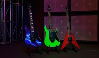 гитары, фон
