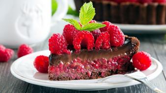 торт, малина